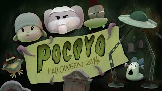 Halloween with Pocoyo: Trick-or-treat!!