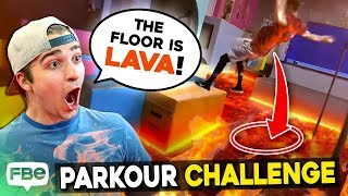 Don't Choose The WRONG Floor   EXTREME Floor Is Lava CHALLENGE!