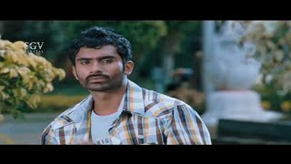 Yogesh jealous on Girlfriend with Other Guy | Bhama | Ambara Kannada Movie | Kannada Best Scenes