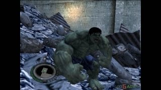 The Incredible Hulk - Gameplay PS2 (PS2 Games on PS3)