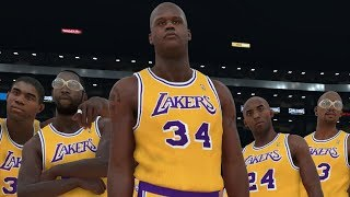 NBA 2K18 All Time Los Angeles Lakers Screenshot!