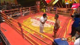 Long Sithet vs Roeun Chhy, Khmer Boxing MY TV 16 March 2018
