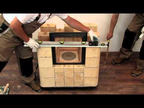 Kafel Kar budowa pieca film instruktażowy