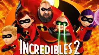 INCREDIBLES 2 Movie Review and Toy Hunt:  Kids React to Incredibles 2 Movie
