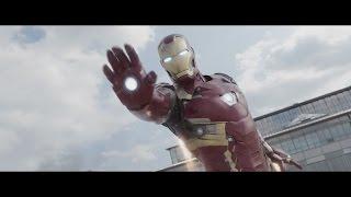 Iron Man All Fight Scene (Civil War) HD