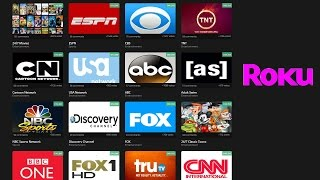 Free Live Cable TV on Roku