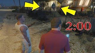 تحذير لاتذهب في مايكل وفرانكلن قرب منزل تريفر بعد موته الساعه 2 ليلا قراند 5 | GTA V Trevor