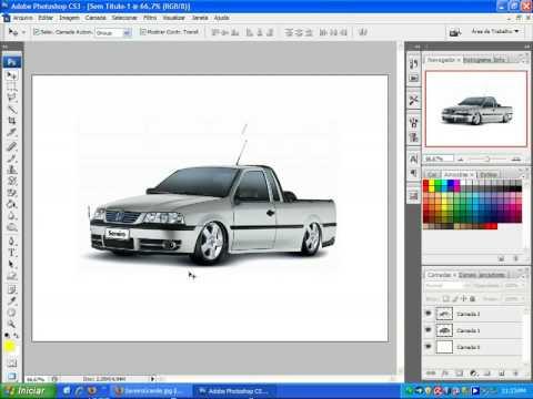 Como Rebaixar um carro usando o Photoshop CS3