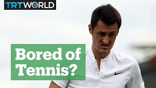 "Bernard Tomic: ""Don't play tennis. Do something you love and enjoy."""