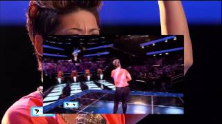 """Tessanne Chin Performing """"Try"""" THE VOICE AUDITIONS   LIVE 9 24 13"""
