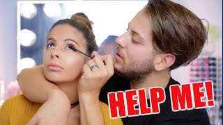 My Husband Does My Makeup