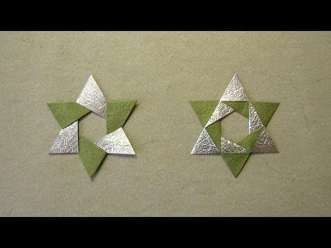 Christmas Origami Instructions: Hex Star (Maria Sinayskaya)