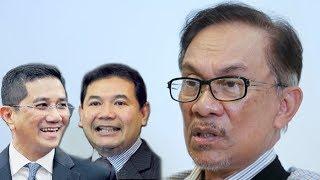 Azmin, Rafizi. Siapa pilihan Anwar?
