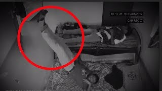 5 MOST Mysterious Situations Ever Captured On CCTV Camera