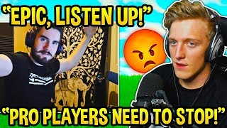 Tfue Explains Why *PRO PLAYERS* are RUINING Fortnite for EVERYONE! - Fortnite Moments