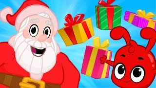 Christmas cartoon for kids with Morphle, Santa and the Christmas present Bandits