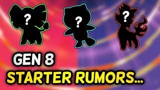 Are these HINTS for the GEN 8 STARTER POKÉMON on Pokémon Switch?!