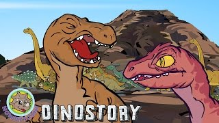 Dinosaurs are Drinking by the River - Dinosaur songs from Dinostory by Howdytoons S1E5