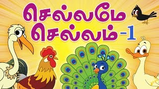 Chellame Chellam Tamil Rhymes Vol 1 | Non-Stop Compilations | Tamil Rhymes for Children