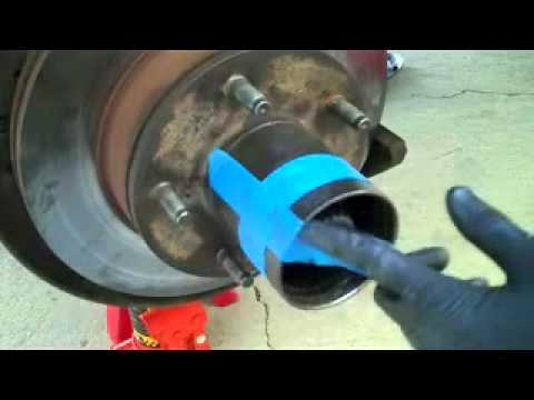 Ford Bronco spindle bearings and seals replacement part 1