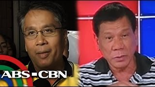 TV Patrol: Roxas, Duterte naghamunan ng sampalan
