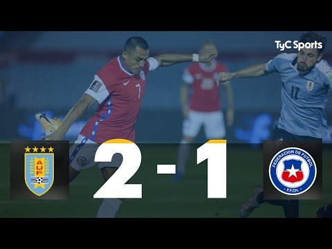Uruguay 2 vs. 1 Chile Eliminatorias a Qatar 2022 Fecha 1