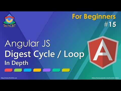 AngularJS - Understanding digest cycle (digest phase or digest process or digest loop)