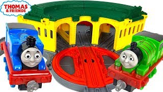 THOMAS AND FRIENDS ADVENTURES PORTABLE PLAYSTE TIDMOUTH SHEDS & THOMAS FAVORITE FRIENDS - UNBOXING