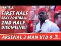 Funny Video First Half Sexy Football 2nd Half Discipline Arsenal 3 Man Utd 0