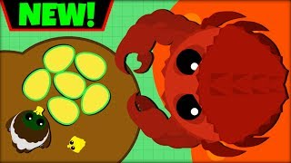 MOPE.IO KING CRAB + *GOLDEN EGG* | GLITCH | NEW ANIMALS IN MOPE.IO UPDATE(mope.io update)