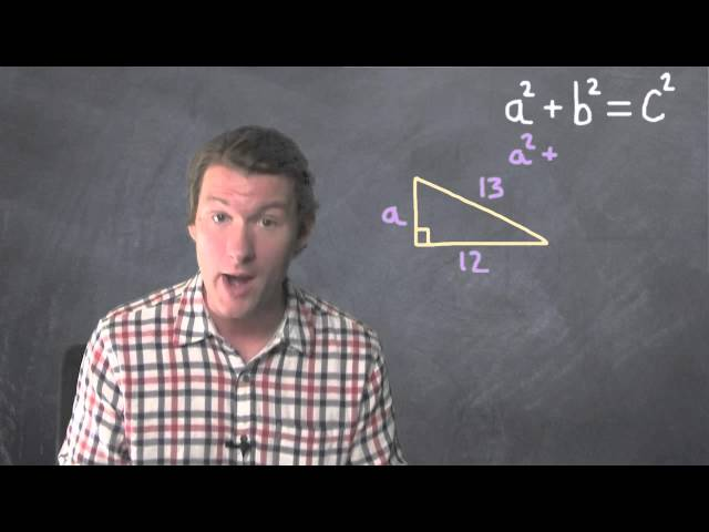 Find The Hypotenuse Using Pythagorean Theorem | Dave May Teaches