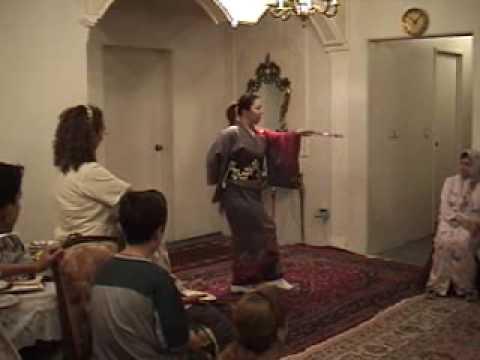 رقص ژاپنی در خانه ایرانی