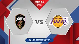 Los Angeles Lakers vs Cleveland Cavaliers: December 14, 2017