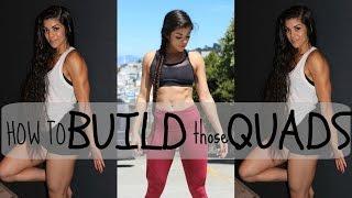 HOW TO BUILD UP THOSE QUADS (TIPS & TRICKS)
