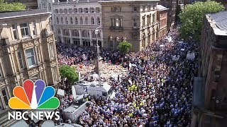 Manchester Vigil Unites In Song:
