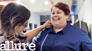 The Secret Life of a Plus-Size Fit Model   Allure