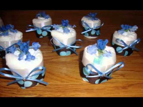 EBAY awhhbbynikki Baby Shower Gifts Diaper Cakes Diaper Cupcakes
