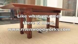 Woodworking, build a Modern Table