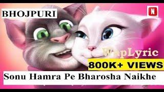 Sonu Song |Bhojpuri Sonu Hamara Pe Bharosa Kahe Naikhe|