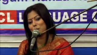 Anima Roy's Tagore songs at inauguration of OSCL.