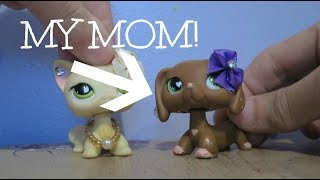 MY MOM PLAYS WITH LPS!!! | LightningLpsTV