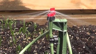 Installing An Irrigation System in  My Raised Bed