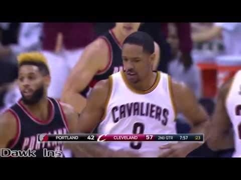 LeBron James Triple Double  vs Blazers   31 Pts, 13 Assists, 10 Rebs, 2 GOOD! (11/23/16)