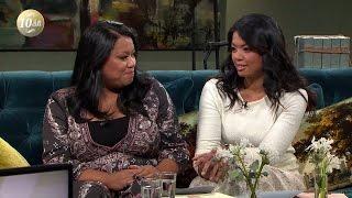 Tvillingar fann varann efter 28 år - via Facebook - Malou Efter tio (TV4)