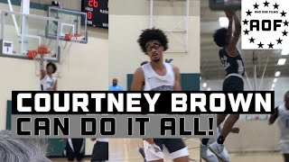 Courtney Brown Jr. CAN DO IT ALL! Highlights @ The Howard Pulley Invitational!