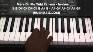 Aaye Ho Meri Zindagi Mein Piano Tutorials