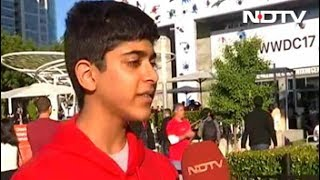 WWDC 2017: 15-Year-Old Indian Developer Steals the Show