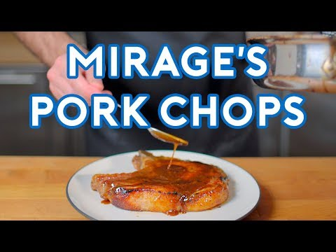 Binging with Babish Glazed Pork Chops from Apex Legends