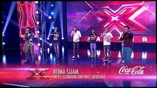 Roma Sijam (Hip Hop) - X Factor Adria - Sezona 1