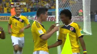 2014 FIFA World Cup ~ Round of 16 ~ Colombia 2 - 0 Uruguay